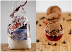 Et oui, encore un S.O.S, que voulez vous, je ne m'en passe pas!!! Je deviens peut-être dépendante à ce genre de cadeau gourmand!!!! Donc, voici pour votre mon plus grand plaisir une version pour Muffins. Comme d'hab, rien de...