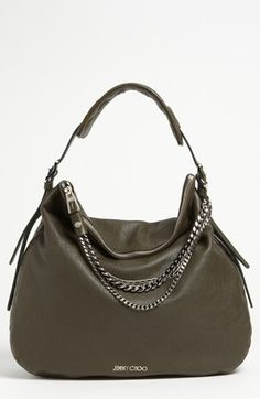 Jimmy Choo Boho - Large Leather Hobo available at #Nordstrom $1495.00
