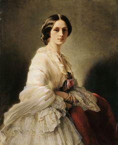 Countess Orlov-Denisov - Category:Russian nobility by Winterhalter - Wikimedia Commons