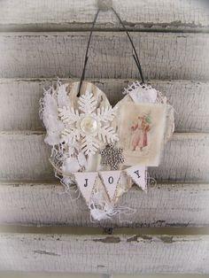 Tremendous Handmade Christmas Vintage Lace And Christmas Ornament On Pinterest Easy Diy Christmas Decorations Tissureus