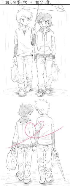 Ash x Gary