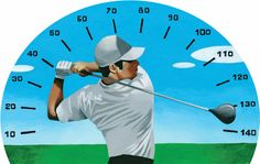 Exercises for increasing swing speed. (...Good article especially for women. Helps with coordination, strength, and building confidence.)