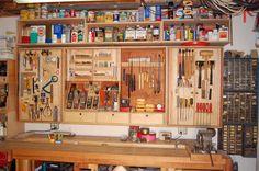 Tool Cabinet Increases Storage By 350 Percent - by tyvekboy @ LumberJocks.com ~ woodworking community