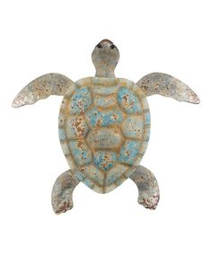 Another great find on #zulily! Coastal Turtle Outdoor Wall Décor Set #zulilyfinds