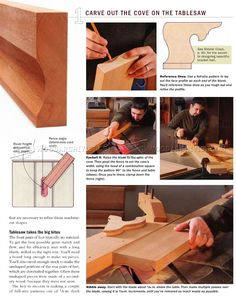 #978 Making Bracket Feet - Furniture Legs Construction