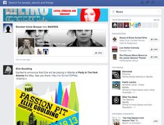 New Facebook News Feed // Music