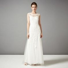 Phase Eight Ivory josefina wedding dress- at Debenhams Mobile