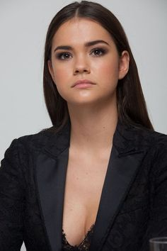 """Maia Mitchell - """"The Fosters"""" Press Conference 09/30/2014"""