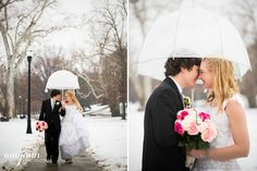 Maura + Billy: Columbus Ohio Winter Wedding | Amy Ann Photography
