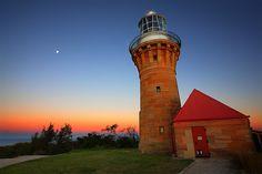 Barrenjoey #Lighthouse after #Sunset - Sydney, #Australia   -   http://dennisharper.lnf.com/