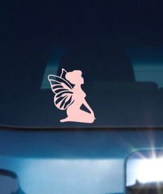 Fairy Car Decal, Fairy Vinyl Decal, Fairy Decal, Fairy Car Sticker, Vinyl Fairy Decal, Vinyl Car Decal by JennsCraftRoom on Etsy