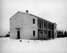 Adalberto Caccia Dominioni Semi detached houses, Oleggio, Italy, 1980