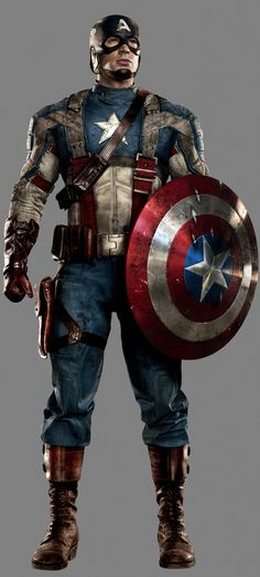 The Evolution of Captain America's Uniform — GeekTyrant  This is by far my favorite Cap uniform.