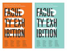 Faculty Exhibition Postcard