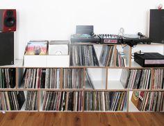 Modulares Schallplattenregal Aus MDF #schallplattenregal #stocubo