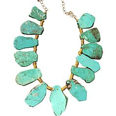 Turquoise! My favorite. #eBags #jewelry