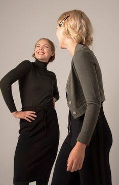 from the Norwegian designer Mette Møller High Neck Dress, Winter, Womens Fashion, Dresses, Design, Turtleneck Dress, Winter Time, Vestidos, Women's Fashion