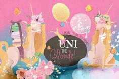 "br>br>Uni The Blonde by Principesca on The Blonde by Principesca .""alt=""Uni The Blonde Unicorn Horn For Horse, Unicorn Fantasy, Unicorn Art, Pencil Illustration, Graphic Illustration, Diy Unicorn Party Decorations, Unicorn Pictures, Unicorn Baby Shower, Kawaii"
