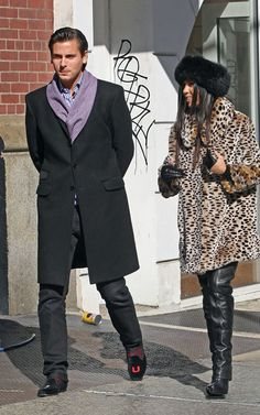 Scott Disick loves Loafers and PJ looks in the day http://miaandmaki.com/2012/06/trend-spot-daytime-pajamas/