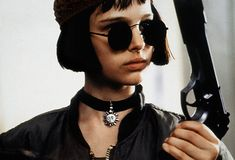 "Natalie Portman as Mathilda in ""Leon: The Professional"" (1994)  This was the first movie I ever saw Natalie Portman in and this movie is one of my favorites still today."