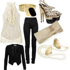 this is kinda neat    lace diva, created by purba-ps on Polyvore