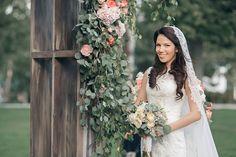 Свадьба Александра и Александры в итальянском стиле, невеста