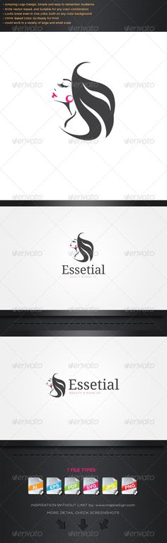 Essential - Simple Logo For Your Beauty Biz