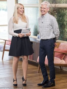 'Lots has changed': Despite being content with motherhood, Holly confessed she doesn't like spending lots of time away from her regular shows such as ITV's This Morning and Celebrity Juice