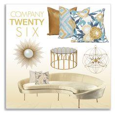 """Company Twenty Six  - Pillows"" by monmondefou ❤ liked on Polyvore featuring interior, interiors, interior design, home, home decor, interior decorating, pillows, homedecor and companytwentysix"
