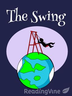 The Swing - Free, printable reading comprehension activity with passage and questions for 1st - 3rd grade!