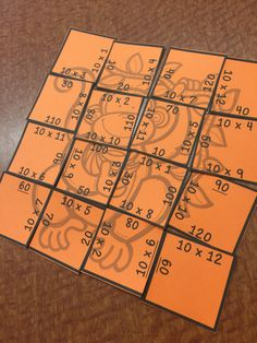 Multiplication Picture Puzzles are a fun and interactive way for your students to gain fluency with their facts! $