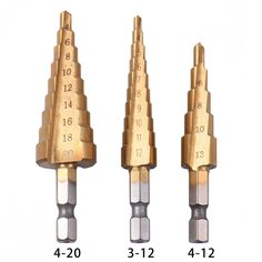 ==> reviews3pcsset Titanium Step Core Drill Bits 3-12mm 4-12mm 4-20mm HSS Power Tools High Speed Steel Wood Metal Drilling3pcsset Titanium Step Core Drill Bits 3-12mm 4-12mm 4-20mm HSS Power Tools High Speed Steel Wood Metal DrillingBig Save on...Cleck Hot Deals >>> http://id480176325.cloudns.ditchyourip.com/32747799760.html images