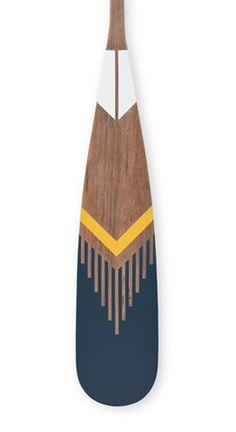 Norquay - custom painted paddles