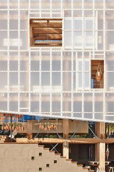Nest We Grow | College of Environmental Design UC Berkeley + Kengo Kuma & Associates | Archdaily