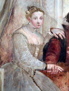 Giovanni Antonio Fasolo  Fresco Detail Villa Caldogno, Veneto, Italy ca. 1565