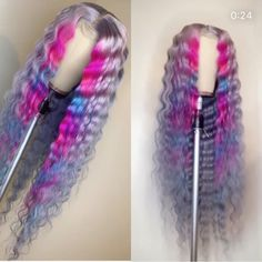 Women Pink Wigs Lace Front Hair Kate Moss Pink Hair Cerise Pink Hair P – marrowral Lace Front Wigs, Lace Wigs, Baddie Hairstyles, Teen Hairstyles, Casual Hairstyles, Medium Hairstyles, Latest Hairstyles, Braided Hairstyles, Curly Hair Styles