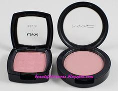 NYX Angel (similar to MAC Well Dressed) I have the NYX. beautiful canvas blog