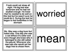 Character Trait Matching Task Cards I-Station Series (20