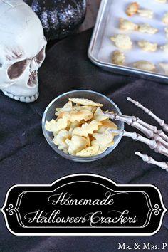 Mr and Mrs P: Homemade Halloween Crackers