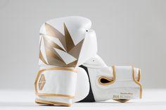 Bia Boxing Glove white/gold