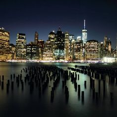 Skyline Manhattan at night   #canon #eos7d #newyork #ny #travel #traveling #vacation #visiting #bridge #instago #instagood #trip #holiday #photooftheday #travelling #tourism #instatraveling #travelgram #picoftheday #skyscraper #manhattan #usa #america #sunset #photography #brooklyn #night #dark #light #water