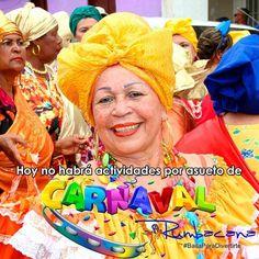 Feliz sábado. Motivado al asueto de carnaval hoy no tendremos actividad en nuestra Sede de Santa Paula. Disfruten con conciencia