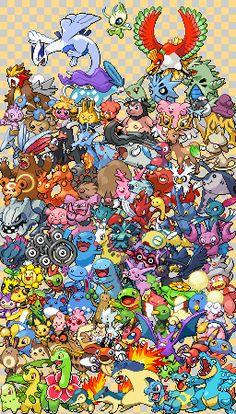 Epic Pokemon Generation 2 - Sprite Stitch Wiki - Wikia