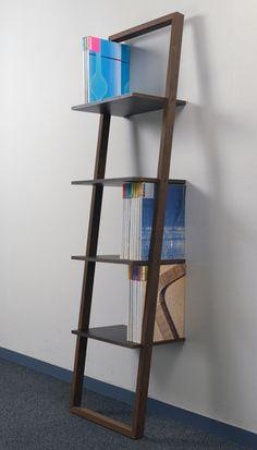 壁に立て掛ける本棚(簡単本棚ウォールラックブックシェルフディスプレイラックおしゃれインテリア壁掛け)/BSL-01/マルゲリータ