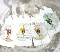 Elegant Luxe Butterfly Spring Art Collage Style by pearliebird, $12.00