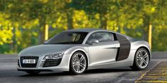 The Audi top speed is 187 mph. It is the fastest Audi ever made. Its faster than a Marcos, TVR Sagaris, Lamborghini Countach, Lamborghini 350 GT, Lamborghini Miura and Audi TT.