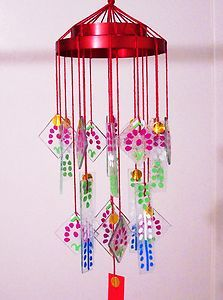 Some wind chimes asian style Perla gets