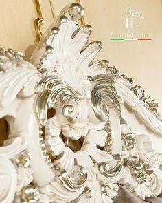 www.fratelliradice.com 👑Regina Collection👑 #FratelliRadice #silver #bed #кровать #letto #cama #bett #lit #detail #baroquestyle #luxuryitalianfurniture #classicstyleinterior #madeinitaly #dream #musthave #interiordesign #interior #Italiandesign #luxuryhomes #luxury #luxuryliving #homedecor #design #дизайнинтерьера #итальянскаямебель #барокко #radice