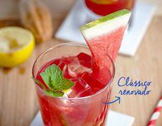 Mojito de melancia. Drink inovador para o verão.