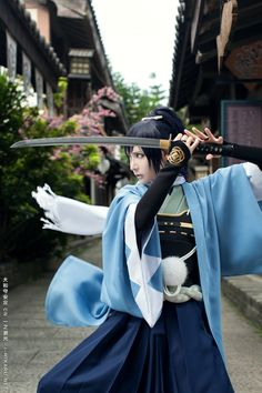 ichinosehikaru(一之濑光/一ノ瀬ヒカル) Yamatonokami Yasusada Cosplay Photo - Cure WorldCosplay